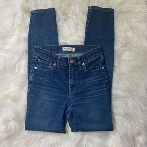 Madewell Jeans - Madewell Jeans High Riser Skinny 9' size 24